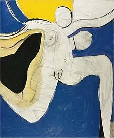 Roger Hilton Dancing Woman